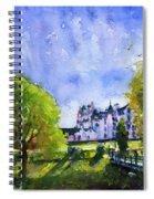 Blair Castle Bridge Scotland Spiral Notebook
