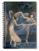 Blake: Fairies, C1786 Spiral Notebook