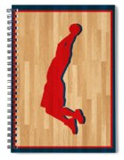 Blake Griffin Los Angeles Clippers Spiral Notebook