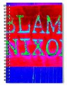 Blame Nixon Spiral Notebook