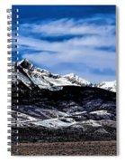 Blanca Mountains Near Fort Garland Colorado Spiral Notebook