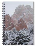 Blanketed Grandeur - Garden Of The Gods Spiral Notebook