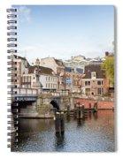 Blauwbrug In Amsterdam Spiral Notebook