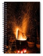 Blazing Bonfire Spiral Notebook