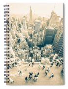 Bleached Manhattan Spiral Notebook