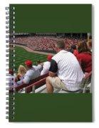 Bleacher Seats Spiral Notebook