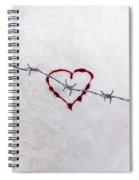 Bleeding Love Spiral Notebook