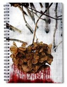 Bleedout In The Snow Spiral Notebook