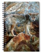 Blending In Nature Spiral Notebook