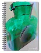 Blenko Green Spiral Notebook
