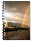 Blennerville Sun Shower Spiral Notebook