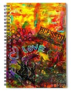Blessed Beyond Measure Spiral Notebook