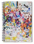 Blessed Is Our G-d Who Created Us For His Glory Spiral Notebook