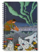 Blessing Of The Polar Bears Spiral Notebook