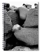 Blessings On Every Stone Spiral Notebook