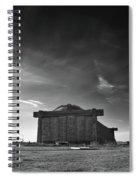 Blimp Hangar At Tustin Spiral Notebook