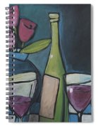 Blind Date With Wine Spiral Notebook