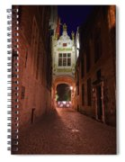 Blind Donkey Alley Spiral Notebook