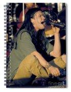 Blind Melon Singer Shannon Hoon Spiral Notebook