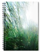 Blinded By The Light Spiral Notebook