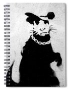 Bling Rat  Spiral Notebook