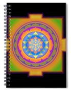 Bliss Yantra Spiral Notebook