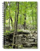 Blissfully Peaceful Spiral Notebook