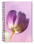 Blissfully Purple Spiral Notebook