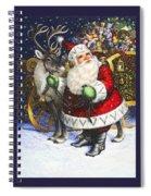 Blitzen Spiral Notebook