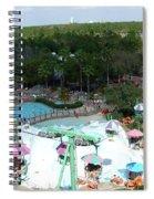 Blizzard Fun Spiral Notebook