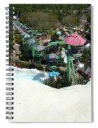 Blizzard Ski Lifts Spiral Notebook