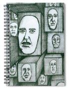 Block Head Spiral Notebook