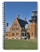 Block Island Southeast Lighthouse Spiral Notebook