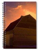 Blocked Sunrise Spiral Notebook