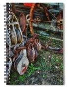 Blocks And No Tackle Spiral Notebook