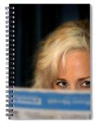 Blond Girl Spiral Notebook
