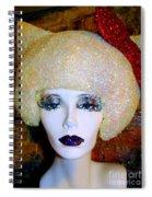 Blonde Fro Spiral Notebook
