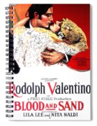 Blood And Sand 1922 Spiral Notebook