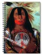 Blood Head Chief, 1832 Spiral Notebook