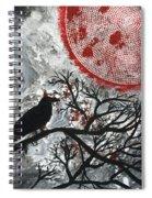 Blood Moon Spiral Notebook