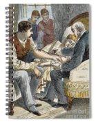 Blood Transfusion Spiral Notebook