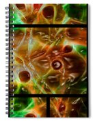 Blood Work Triptych Spiral Notebook