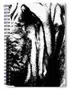 Bloodhound - It's Black And White - By Sharon Cummings Spiral Notebook