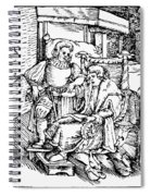 Bloodletting, 1540 Spiral Notebook