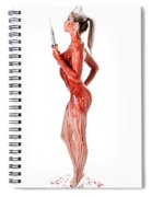 Bloody Nurse Spiral Notebook