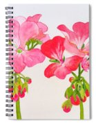 Blooming 1 Spiral Notebook