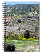 Blooming Almond Trees Spiral Notebook