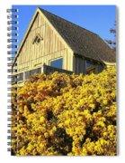 Blooming Bandon Broom Spiral Notebook