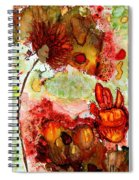 Blooming Impressions.. Spiral Notebook