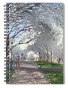 Blooming In Niagara Park Spiral Notebook